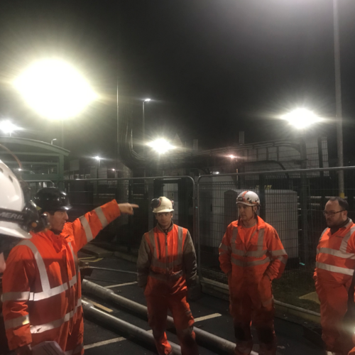 Ainsdale Station – Lighting Column Replacements