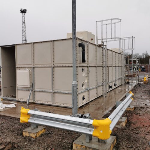 Kingmoor Rail Depot – Water Tank Construction