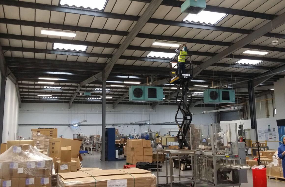 Preston – Manufacturing Electrical Installation