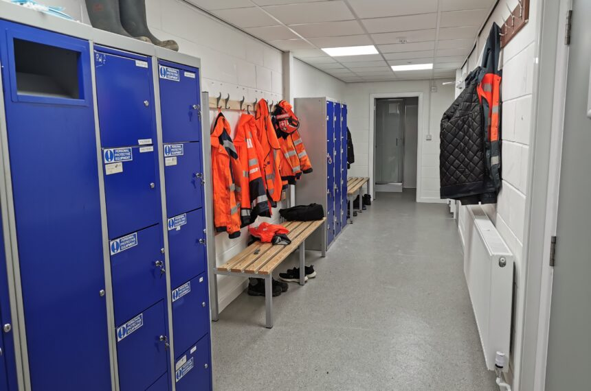 Locker Room & Changing Area