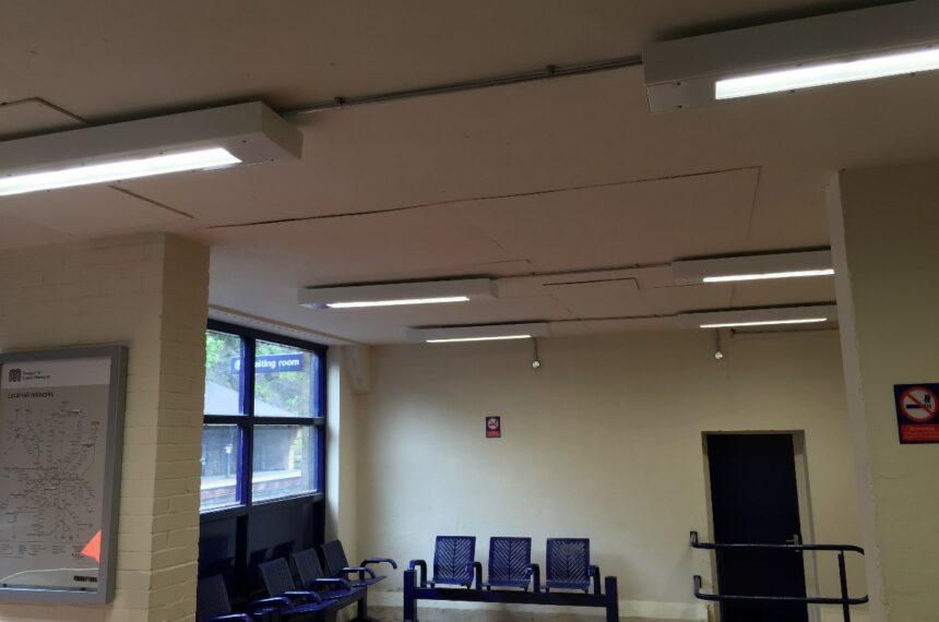 Railway Station Waiting Room Lighting
